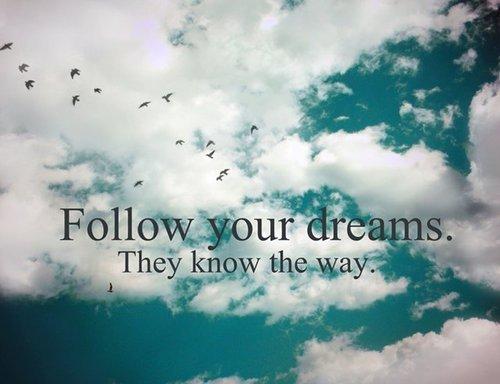 Orice vis e posibil! Îţi trebuie doar curajul de-a pune capul pe pernă.